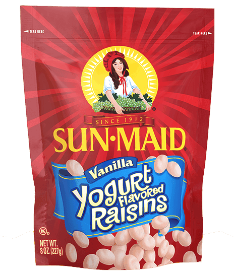 $0.50 for Sun-Maid Yogurt Flavored Raisins (expiring on Sunday, 10/25/2020). Offer available at multiple stores.