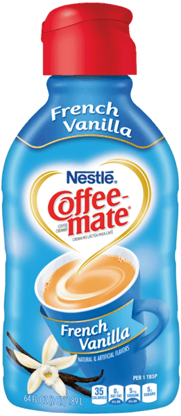 $1.50 for NESTLÉ® COFFEE-MATE® Creamer (expiring on Friday, 02/02/2018). Offer available at Publix.
