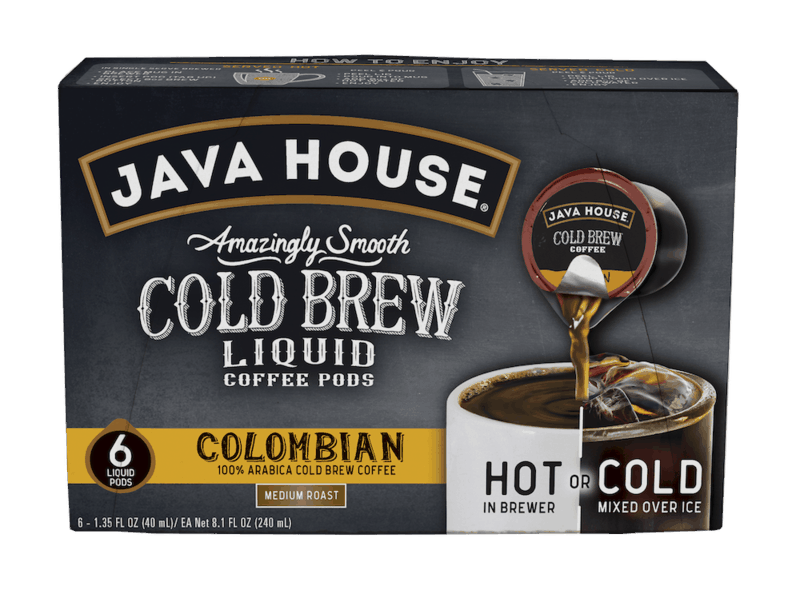 $1.50 for JAVA HOUSE Cold Brew Coffee (expiring on Thursday, 12/31/2020). Offer available at multiple stores.