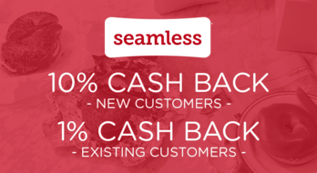 $0.00 for Seamless Delivery (expiring on Sunday, 03/01/2020). Offer available at Seamless.