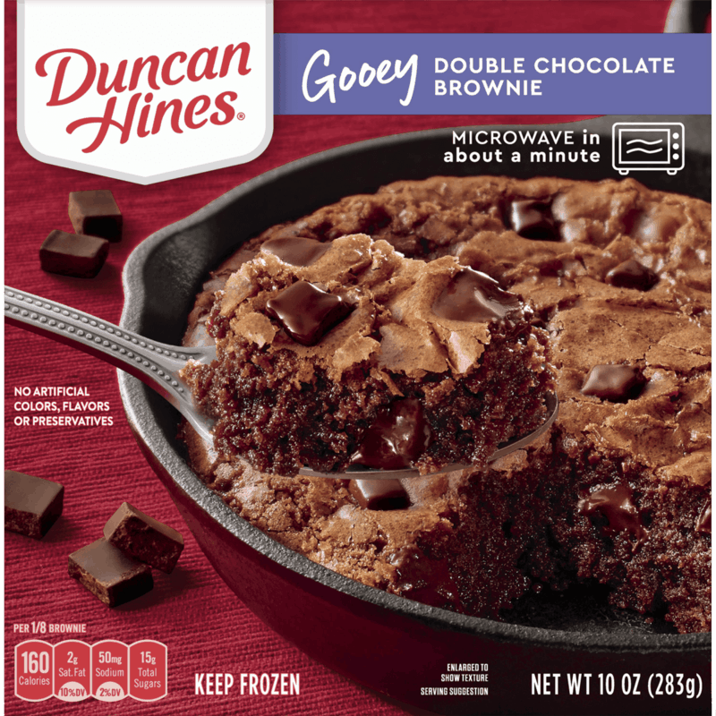 $1.25 for Duncan Hines Frozen Gooey Bakes (expiring on Sunday, 05/03/2020). Offer available at multiple stores.