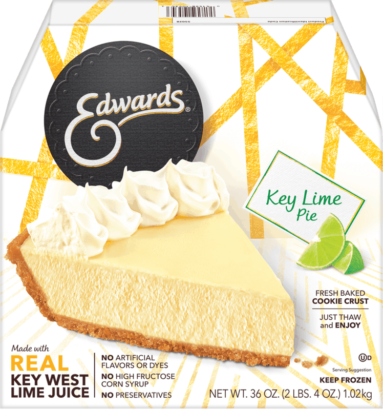 $1.00 for Edwards® Whole Pies (expiring on Thursday, 01/02/2020). Offer available at multiple stores.