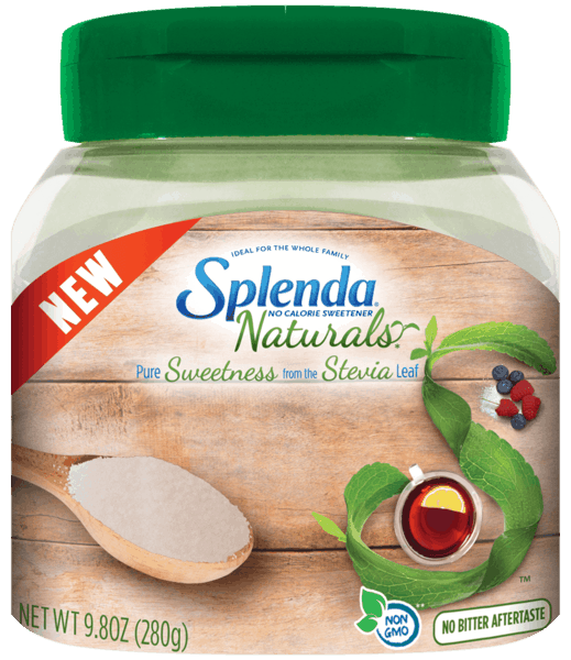 $2.00 for SPLENDA® Naturals Stevia Sweetener Jar. Offer available at Walmart.