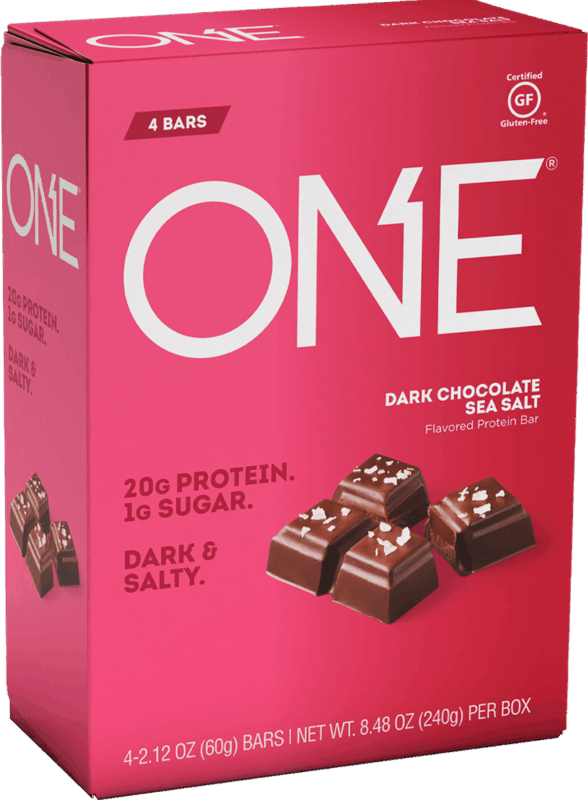 $0.50 for ONE® Protein Bars (expiring on Saturday, 11/02/2019). Offer available at multiple stores.