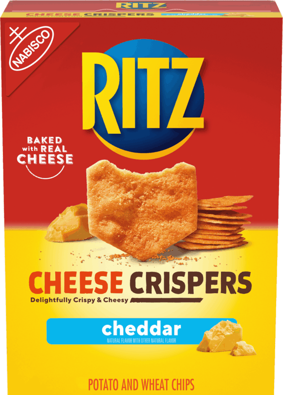 $1.00 for RITZ Cheese Crispers (expiring on Friday, 04/30/2021). Offer available at multiple stores.