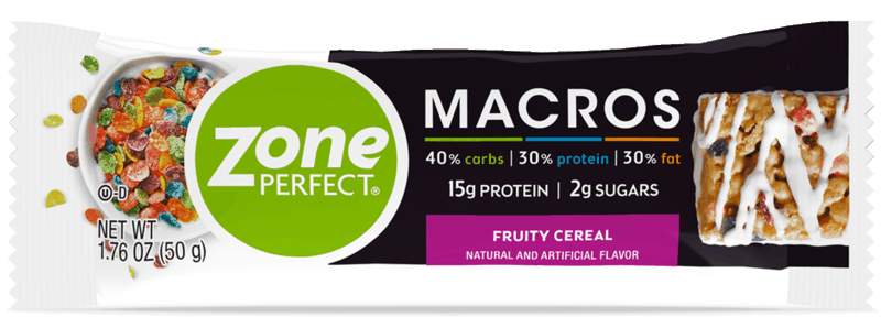 $0.25 for ZonePerfect® Macros Single Bar (expiring on Tuesday, 06/02/2020). Offer available at Publix, Giant Eagle, ShopRite, Hy-Vee.