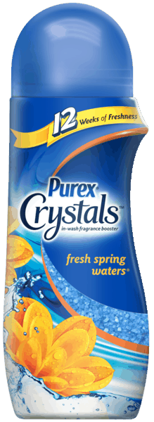 $0.75 for Purex® Crystals™ (expiring on Tuesday, 09/04/2018). Offer available at multiple stores.