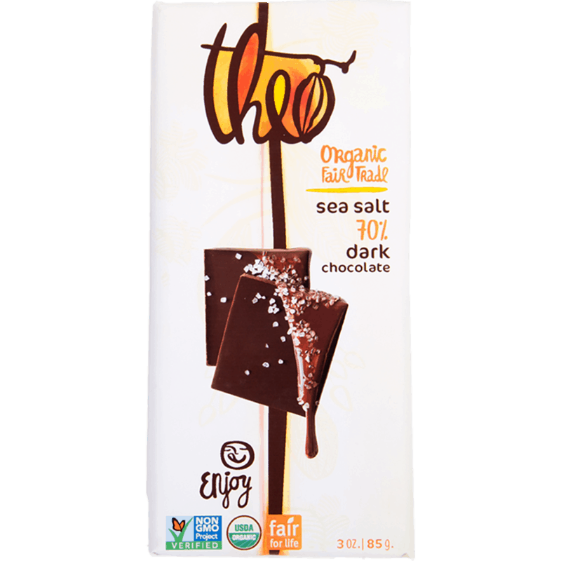 $1.00 for Theo® Chocolate (expiring on Wednesday, 04/22/2020). Offer available at multiple stores.