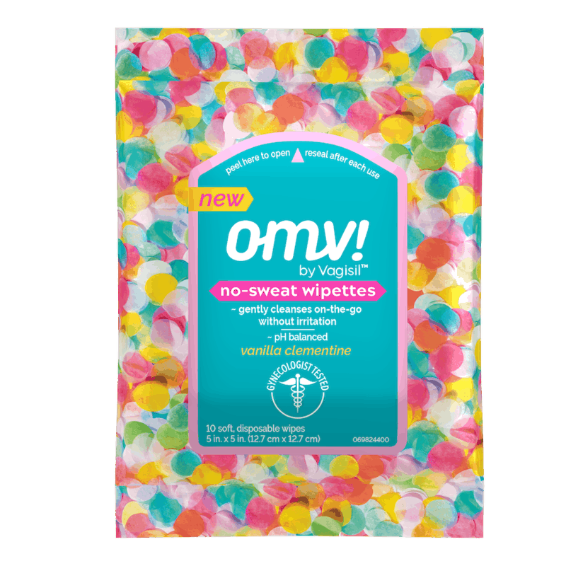 $0.75 for OMV! No-Sweat Wipettes (expiring on Tuesday, 12/22/2020). Offer available at Walmart, Walmart Grocery.