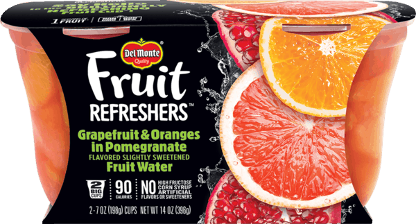 $0.50 for Del Monte® Fruit Refreshers™. Offer available at multiple stores.