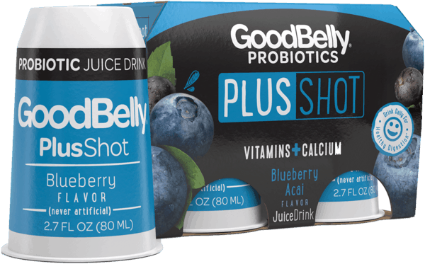 $2.00 for GoodBelly® Probiotics PlusShot. Offer available at Walmart.