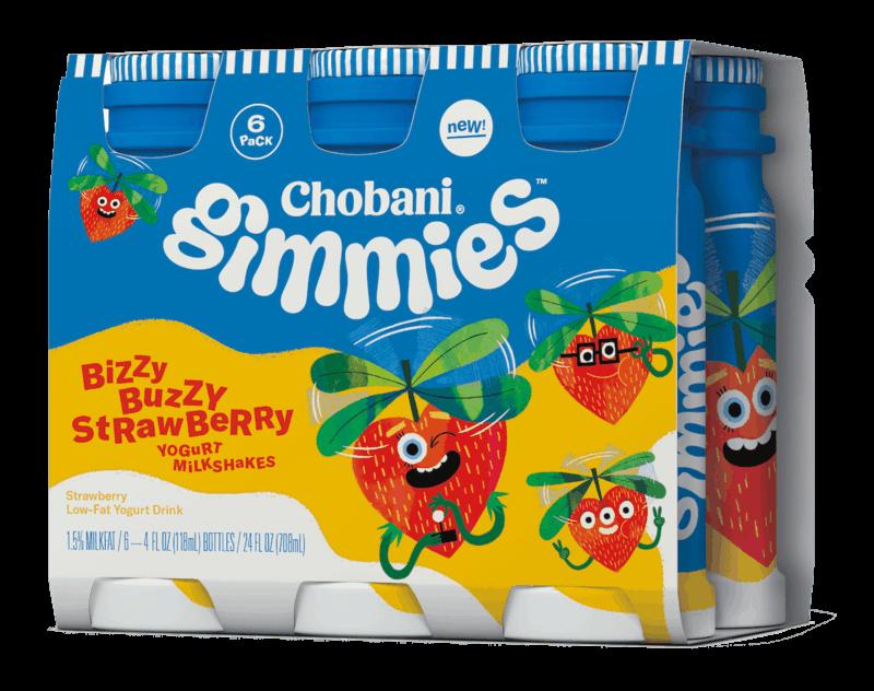 $1.50 for Chobani® Gimmies™ Kids' Yogurt Milkshakes. Offer available at Walmart.