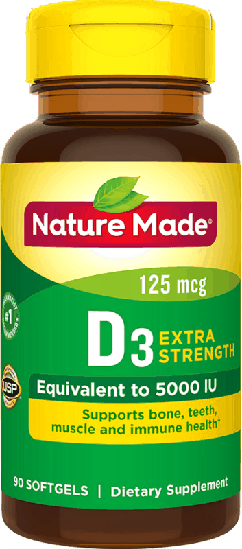 $2.00 for Nature Made® Vitamin D. Offer available at multiple stores.