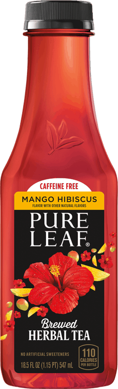 $0.50 for Pure Leaf Herbal Iced Tea. Offer available at Walmart.