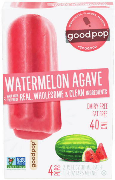 $0.25 for GoodPop® Frozen Pops (expiring on Wednesday, 12/05/2018). Offer available at multiple stores.