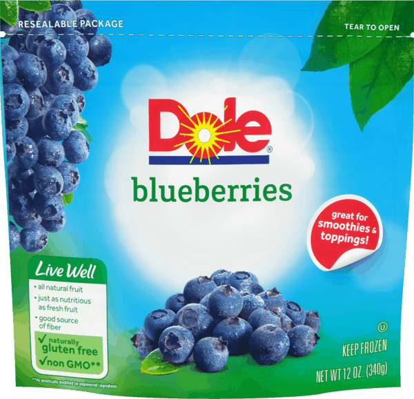 $1.00 for DOLE® Frozen Fruit. Offer available at multiple stores.