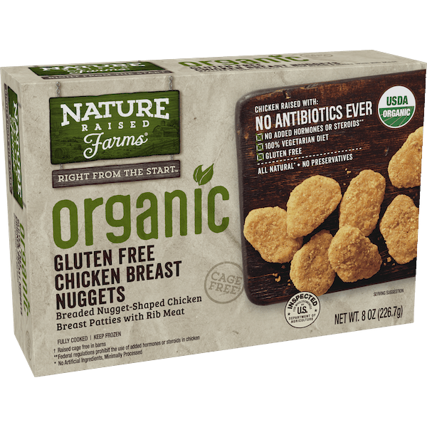 $2.00 for NatureRaised Farms® Organic Chicken Nuggets (expiring on Saturday, 03/16/2019). Offer available at Kroger.
