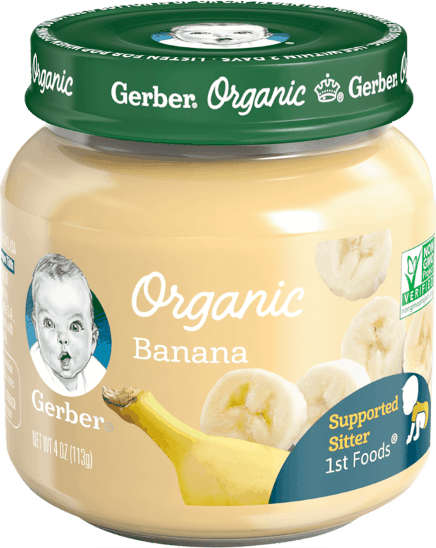 $1.00 for Gerber® Organic Glass Jars (expiring on Friday, 07/26/2019). Offer available at Walmart.