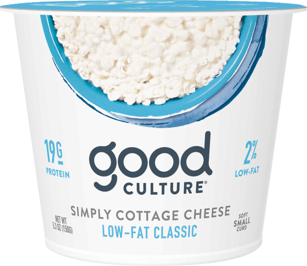 $1.00 for Good Culture® Cottage Cheese (expiring on Wednesday, 10/02/2019). Offer available at Walmart.