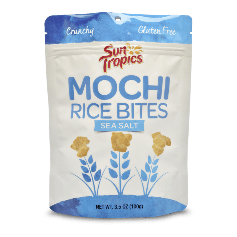 $0.75 for SunTropics Mochi Rice Bites (expiring on Monday, 12/30/2019). Offer available at multiple stores.