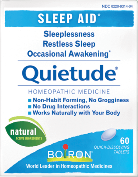 $1.00 for Boiron® Quietude® (expiring on Wednesday, 08/01/2018). Offer available at multiple stores.