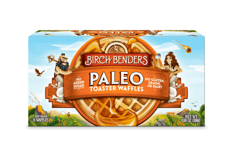 $0.50 for Birch Benders Toaster Waffles (expiring on Monday, 03/01/2021). Offer available at multiple stores.