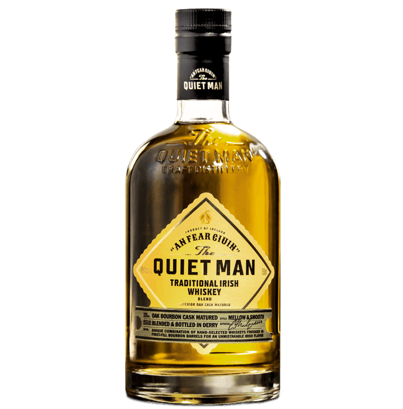 $4.00 for The Quiet Man Traditional Irish Whiskey. Offer available at multiple stores.