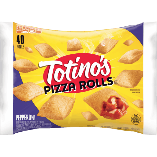 $1.00 for Totino's™ Pizza Rolls™. Offer available at multiple stores.
