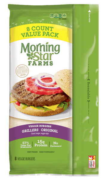 $0.40 for MorningStar Farms® Frozen Veggie. Offer available at multiple stores.