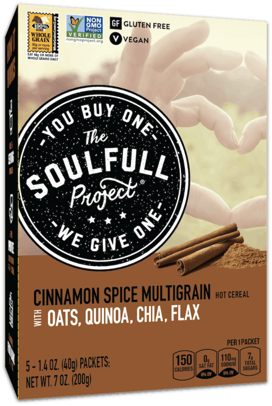 $1.50 for The Soulfull Project® Hot Cereal (expiring on Saturday, 05/16/2020). Offer available at multiple stores.