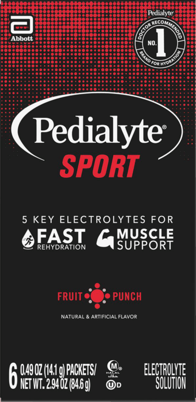 $3.00 for Pedialyte Sports Drink Powder. Offer available at Walmart, Walmart Pickup & Delivery.