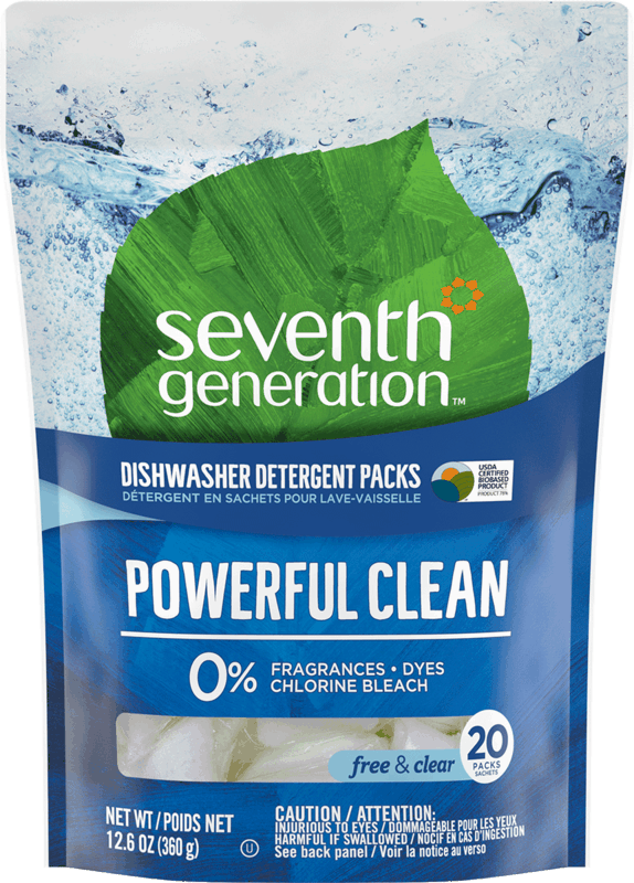 $1.50 for Seventh Generation™ Dishwasher Packs. Offer available at Walmart.