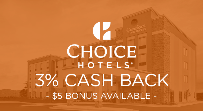$0.00 for Choice Hotels (expiring on Monday, 01/27/2020). Offer available at Choice Hotels.