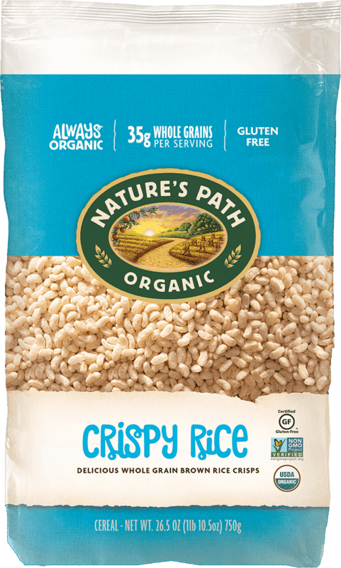 $1.75 for Nature's Path Crispy Rice Cereal (expiring on Monday, 06/22/2020). Offer available at Walmart.
