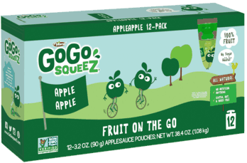 $0.25 for GoGo squeeZ® Fruit (expiring on Sunday, 11/11/2018). Offer available at multiple stores.