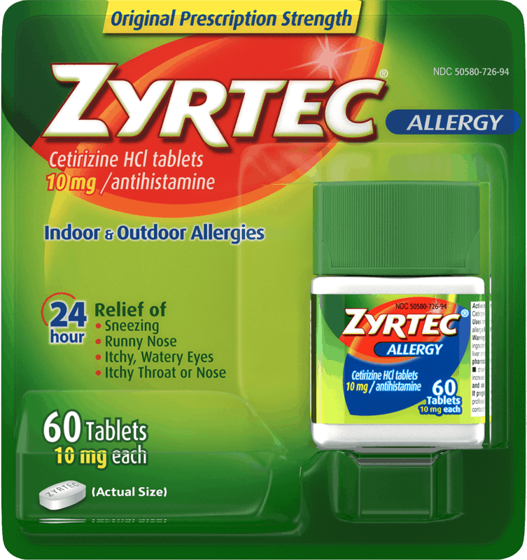 $4.25 for Zyrtec. Offer available at Walmart, Walmart Pickup & Delivery.