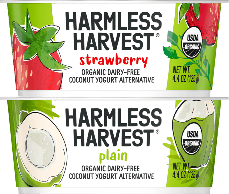 $1.50 for Harmless Harvest Yogurt (expiring on Wednesday, 03/31/2021). Offer available at Whole Foods Market®.