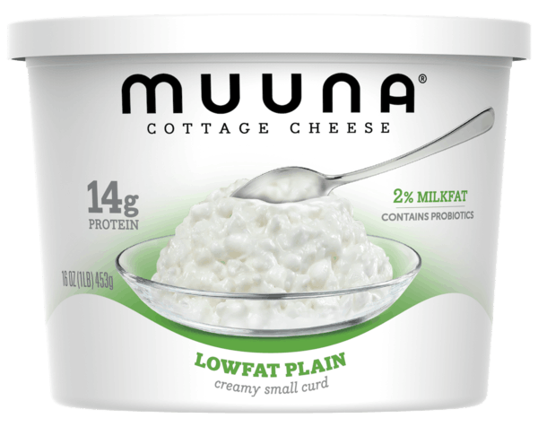 $0.75 for Muuna® Cottage Cheese Lowfat Plain (expiring on Saturday, 09/22/2018). Offer available at Walmart.