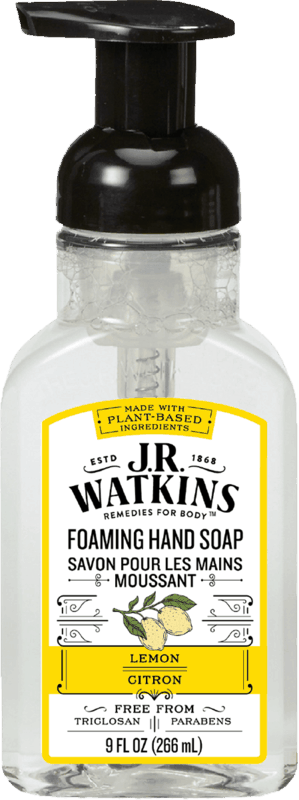 $1.00 for JR Watkins Hand Soap (expiring on Saturday, 09/04/2021). Offer available at Target, Target Online.