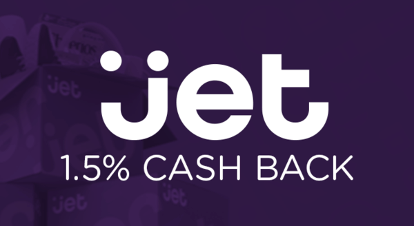 $0.00 for Jet (expiring on Friday, 05/31/2019). Offer available at Jet.