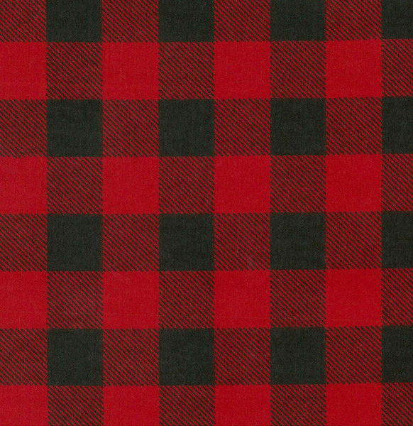 $0.50 for Red Black Buffalo Check Fabric (expiring on Tuesday, 04/02/2019). Offer available at JOANN .