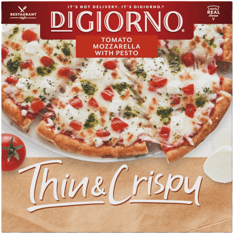$1.00 for DiGiorno Thin & Crispy Pizza (expiring on Tuesday, 06/02/2020). Offer available at Target, Walmart.