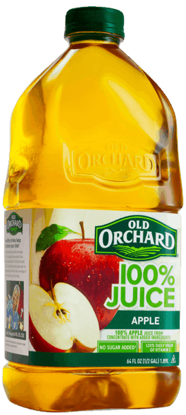 $0.75 for Old Orchard® 100% Juices. Offer available at Walmart.