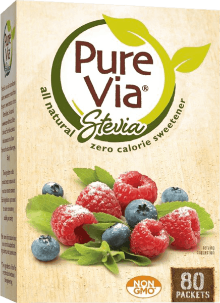 $0.75 for Pure Via® Stevia Zero Calorie Sweetener (expiring on Saturday, 02/02/2019). Offer available at multiple stores.