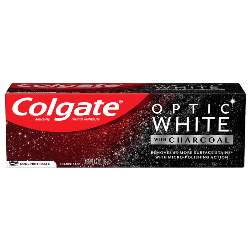 $1.00 for Colgate® with Charcoal. Offer available at multiple stores.