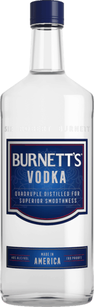 $1.00 for Burnett's (expiring on Wednesday, 08/01/2018). Offer available at multiple stores.