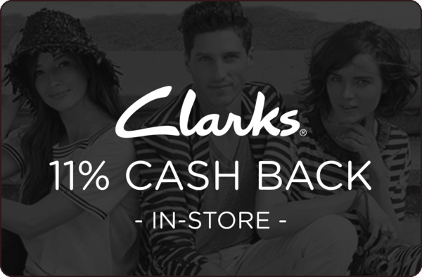 $0.00 for Clarks Retail Locations (expiring on Monday, 06/25/2018). Offer available at Clarks.