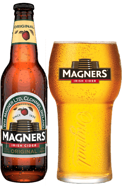 $1.00 for Magners® Irish Cider (expiring on Sunday, 04/01/2018). Offer available at Any Restaurant, Any Bar.