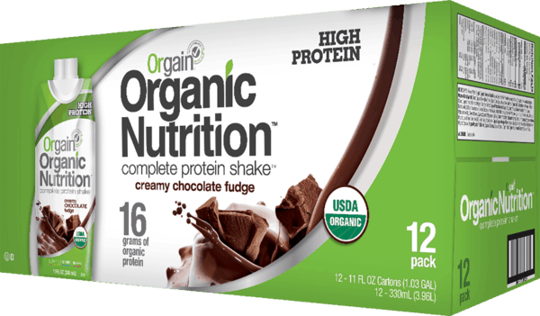 $5.00 for Orgain® Organic Nutritional Shake (expiring on Sunday, 12/31/2017). Offer available at Wegmans.