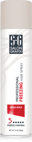 $1.00 for Salon Grafix® Professional Mega Hold Freezing Hair Spray (expiring on Sunday, 12/02/2018). Offer available at multiple stores.